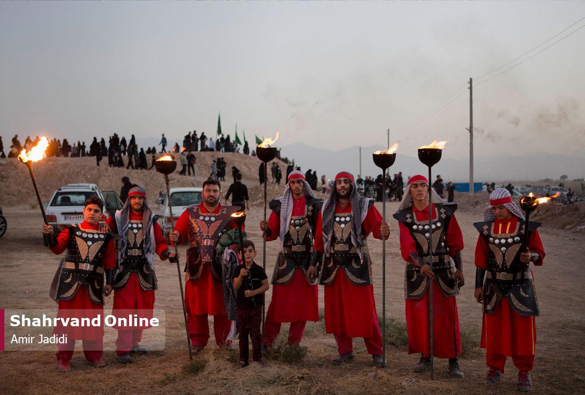 عزاداری نوشآبادیها از توابع شهرستان آران و بیدگل