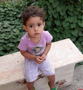 زهرا 2 ساله