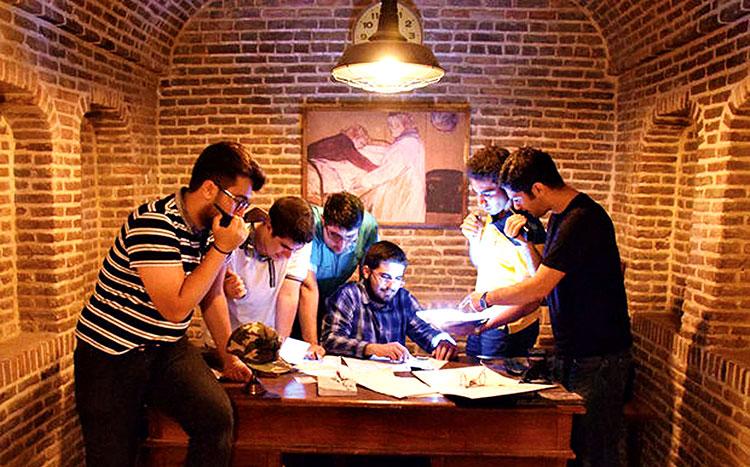 اتاق بازی ایرانی